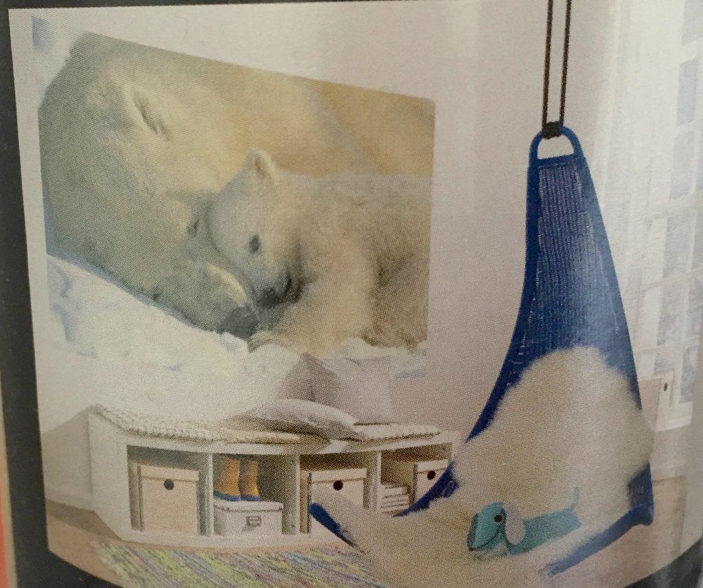 Fotomural oso polar