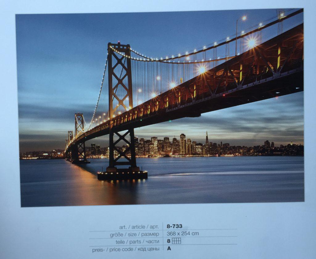 Fotomural Bay Bridge Komar